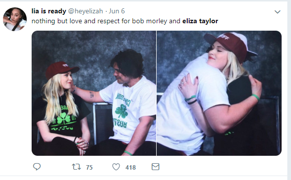 Bob Morley and Eliza Taylor Married