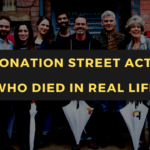Coronation Street Actors Who Died in Real Life