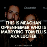 This is Meaghan Oppenheimer Who is marrying  Tom Ellis aka Lucifer