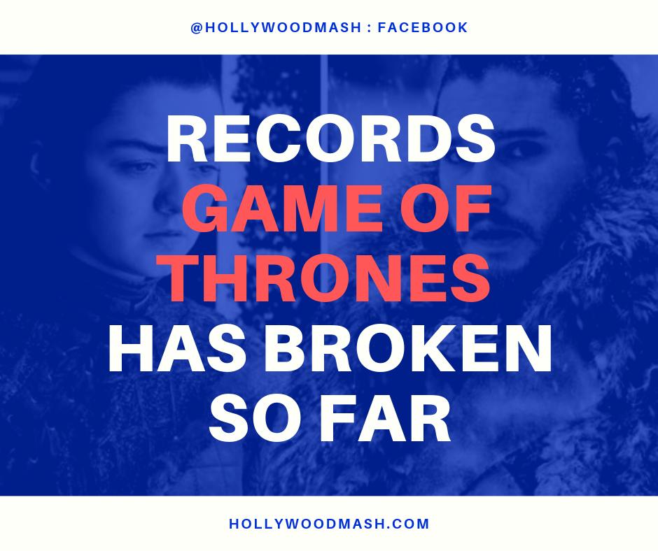 game of thrones records broken