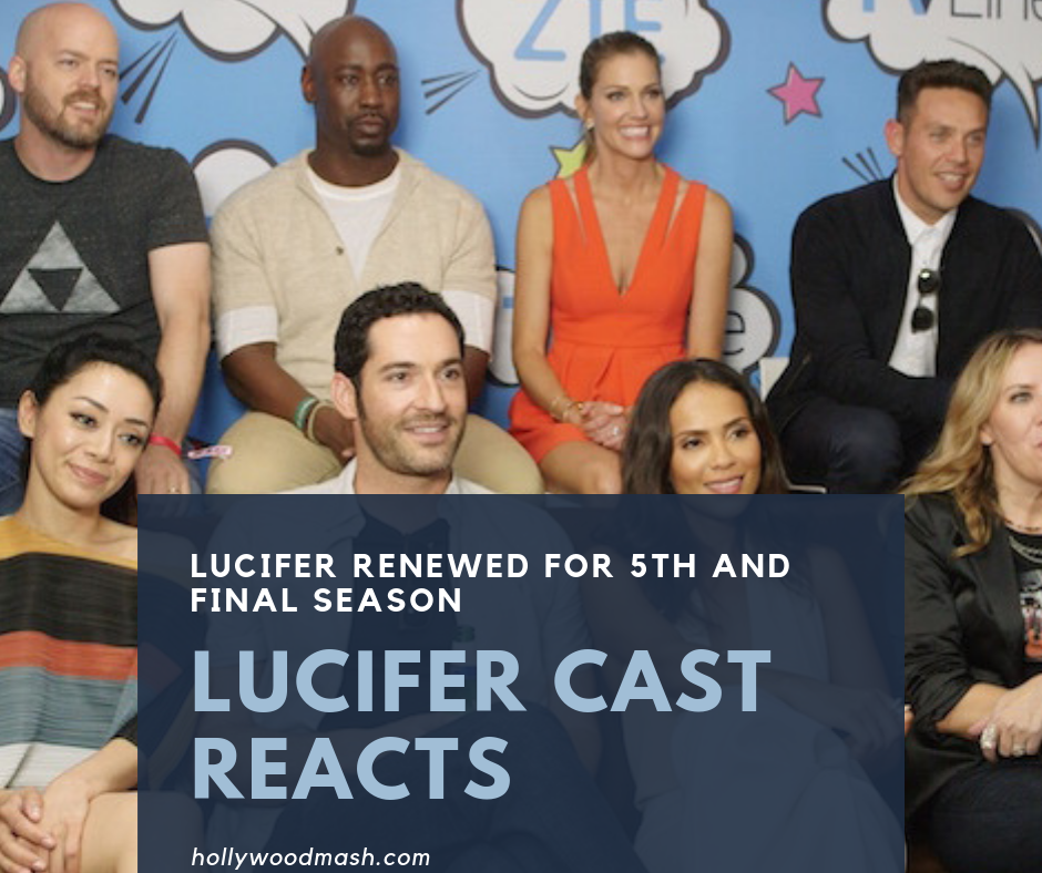 Lucifer cast reacts to renewal for Fifth and Final Season of Lucifer at Netflix