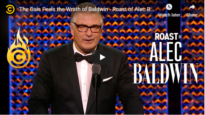 Best part of Alec Baldwin Roast (spoiler alert Winner is Ireland )