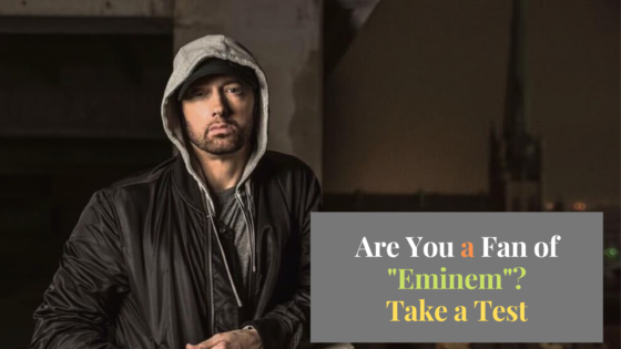 Eminem Quiz : How well do you know him?