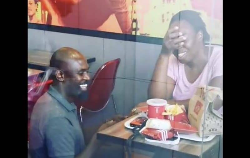 Viral video of Sweetest Proposal at KFC