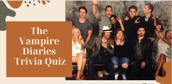 The Vampire Diaries Trivia Quiz