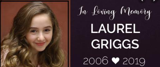 Young Broadway Star Laurel Griggs Dies at 13