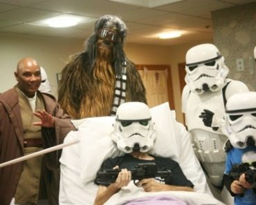 A dying Star Wars fan in England got to see Rise of Skywalker before its release