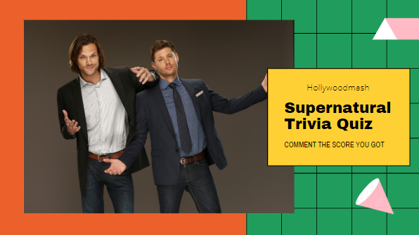 Supernatural Trivia Quiz