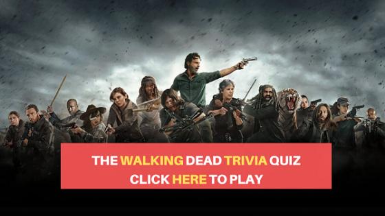 walking dead trivia