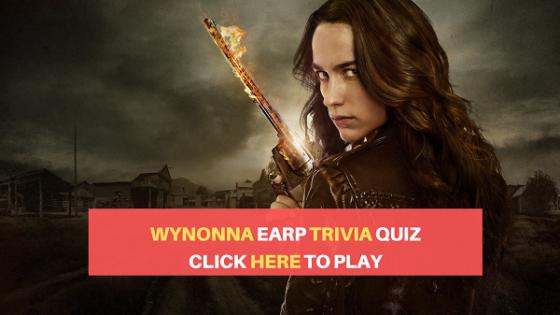 Wynonna Earp trivia quiz