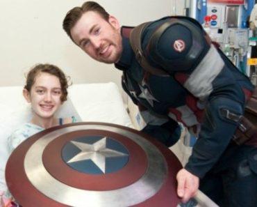 Here is Why Chris Evans is Real Life Superhero