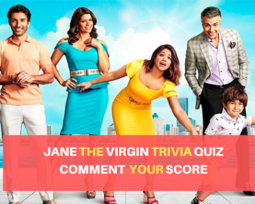 Jane The Virgin Trivia Quiz