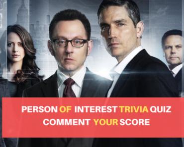 Person of Interest Trivia Quiz