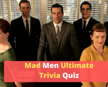 Mad Men Trivia Quiz