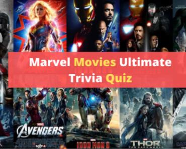 Marvel Movies trivia quiz