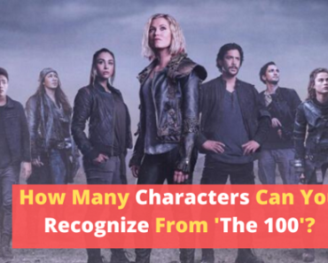 Can you recognize these characters from 'The 100'?