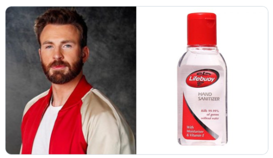 Chris Evans as Sanitizers