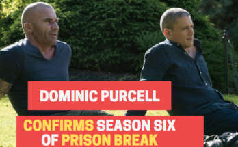 Dominic Purcell confirms prison break season 6