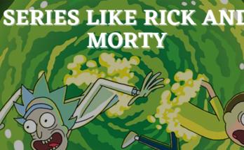 series like rick and morty
