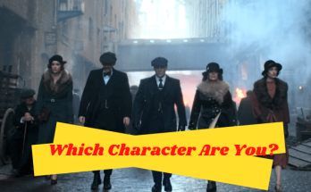 peaky blinders character quiz