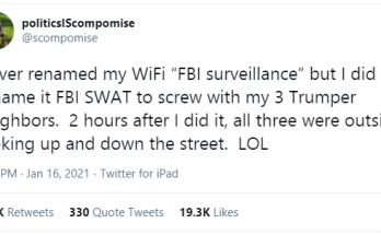 trump fbi survelliance prank