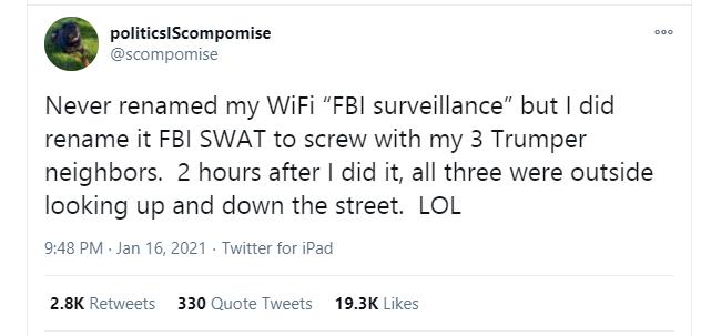 trump fbi survelliance prank